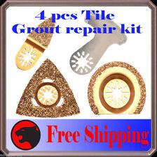 4 Diamond Carbide Grout Oscillating Multi Tool Saw Blade For Dremel Multi Max