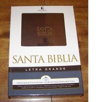 Santa Biblica Reina-Valera RVR HOLY BIBLE Letra Grande Facil de Leer Boxed NIB