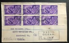 1949 Gilbert Ellice Islands first day cover King George 6 Royal Silver Wedding