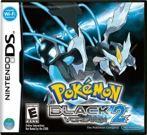 Pokemon: Black Version 2 (Nintendo DS, 2012) Authentic, American