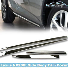 For Lexus NX200t NX300h F Sport  5DR Side Door Body Moulding Trim Bars Cover 16