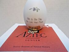 Enesco Aztec Ceramic Egg This Is The Day The Lord Has Made New c