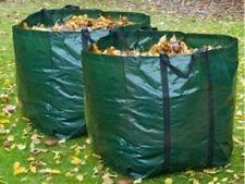 2 x HEAVY DUTY GARDEN BAG WASTE WEEDS LEAVES BIN CUTTING REFUSE SACK 150L
