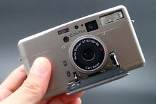 【MINT】Contax TVS III 35mm point & shoot film Camera Carl Zeiss Lens from JAPAN