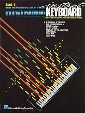 INSTANT ELECTRONIC KEYBOARD BOOK B