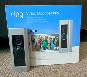1080p HD Ring Video Doorbell Pro only, Boxed