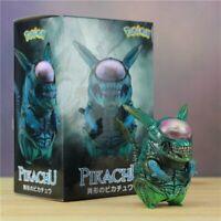 Doll Toy Pokemon Funny Action Figure Aliens VS Predator Alien Pikachu GAME FREAK