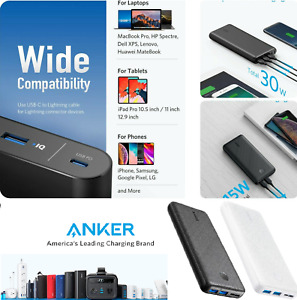 🔋💥 Anker Portable Charger Power Bank External Battery iPhone Samsung Sealed