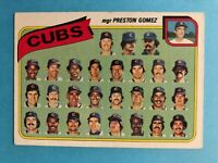 1980 Topps Baseball Team Cards with Checklist- Pick your Favorite