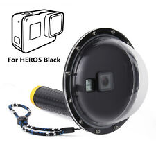 Dome Port Underwater Diving Camera Lens Cover for GoPro Hero 5 6 7 Black Camera