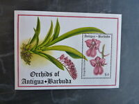 1994 ANTIGUA & BARBUDA ORCHIDS STAMP MINI SHEET MNH