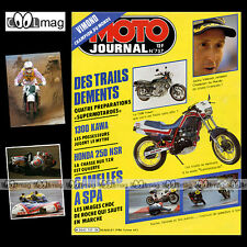 MOTO JOURNAL N°757 HONDA NS 250 R NSR, KAWASAKI Z 1300, DINATEL, BOXER BIKE 1986