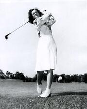 Great American Golfer BABE ZAHARIAS Glossy 8x10 Photo Print Golfing Swing Poster