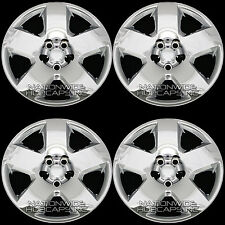 "4 CHROME 05-11 Dodge Charger Magnum 17"" Bolt On Wheel Covers Hub Caps Rim Skins"