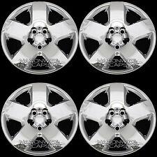 "4 CHROME 05-11 Dodge Charger Magnum 17"" Bolt On Wheel Covers Hub Caps Rim Skins"