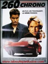 260 CHRONO No Man's Land Affiche Cinéma / Movie Poster PORSCHE 911 CHARLIE SHEEN