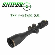 Sniper Long Range Scope WKP6-24x50 30mm Tube Mil Dot Second Focal Plane Scope