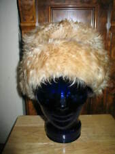 Men's Lamb Skin Fur Cap Beanie From ITALY SIZE M Vintage