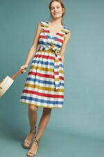 New Anthropologie Cricket Club Dress by Maeve $150 cotton size 6 NWT