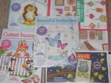 1 Small Cross Stitch Kit for Cards etc Drop Down Menu Choice Inc Margaret Sherry
