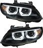 Headlight Set 3D and LED Angel Eyes for BMW 3er E92 E93 Year 05-10 Coupe Cabrio