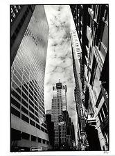 photo tirage baryté 30x40 signed / architecture / buildings de New York 2002