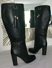 GUCCI Sienna Leather Horsebit Boots IT 36.5