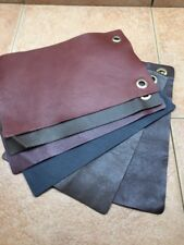Leather Furniture Store Samples Semi Aniline Assorted  x 6 Lot 17