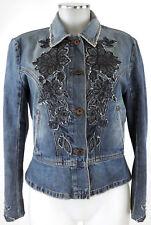 Sportmax Jeansjacke blau 40 (D) Jacke denim jacket veste Baumwolle wie neu