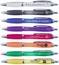 Printed Personalised Promotional Pens x 50  Printed in Northampton