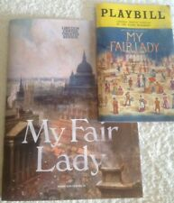 PLAYBILL MY FAIR LADY & LINCOLN CENTER THEATER REVIEW SOUVENIR BOOK MINT NEW