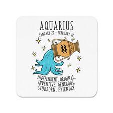 Aquarius Horoscope aimant pour réfrigérateur - étoile signe astrologie zodiac