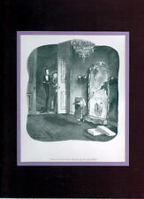 Chas Addams ADDAMS FAMILY - 'PUGSLEY JOINS BOY SCOUTS' PRO MATTED PRINT