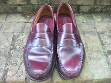 BASS WEEJUNS Men's Size 11 D Penny Loafer Burgundy