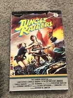 🔥 Jungle Raiders 1985 VHS Brand New Unopened Sealed Van Cleef Cannon Films 🔥