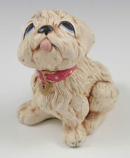 Vtg Pendelfin England Tammy, White Puppy, Dog Figurine, Whimsical