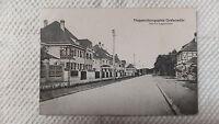 AK Truppenübungsplatz Grafenwöhr östliche Lagerstraße Litho gel. 1918