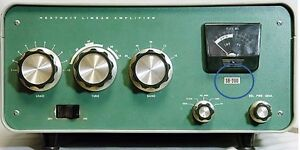 New model number label  for a Heathkit SB-200 amplifier front panel