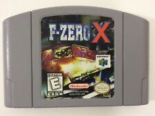 F Zero X N64 Nintendo 64 Cart only Clean Tested