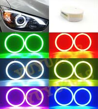 for Mazda cx-5 13-15 car headlight RGB halo ring LED light DRL Bluetooth remote
