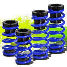 "FOR 93-97 FORD PROBE/MX6 FRONT+REAR RACING COILOVER 1-3""LOWERING SPRING BLUE"