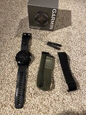 Garmin fēnix 5X Plus 51mm Black Case and Black Band GPS Multisport Watch -...