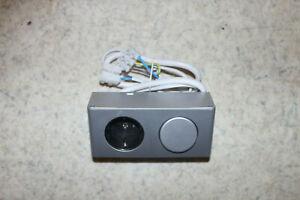 Steckdose mit Schalter für Möbeleinbau 230 Vol Bad Spiegel Schrank