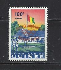 GUINEA - 202-204 - MH - 1960 - ROME OLYMPICS, 2ND ANN OF INDEPENDENCE