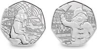 Paddington Bear 50p coin  2018/2019 Coins STATION / BUCKINGHAM PALACE/ ST PAULS/