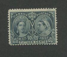 Queen Victoria 1897 Canada 15c Stamp #58 Scott Value $275