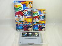 Baku Kyurenpatsu SUPER B DAMAN Super Famicom Nintendo Hudson sf
