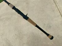 """NEW Temple Fork TFO Professional Casting Fishing Rod 7'6"""" H 10-25 1/2 - 1 1/2 oz"""