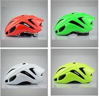 Solid color AERO MTB Road Bike bicycle Cycling Helmet men women M L 54 -62cm