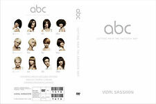 ABC CUTTING HAIR THE VIDAL SASSOON WAY EDUCATION 3 DVD SET Step by Step Training